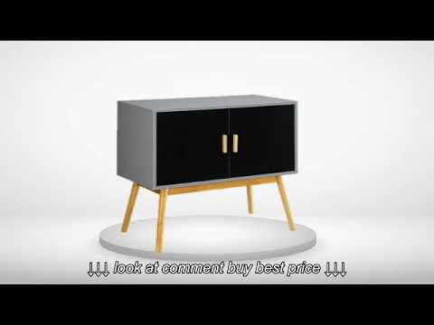 Convenience Concepts Oslo Cabinet Desk Tv Stand And Shelf Youtube