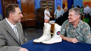 Signed Muhammad Ali Training Shoes | Knoxville, Hour 3 Preview