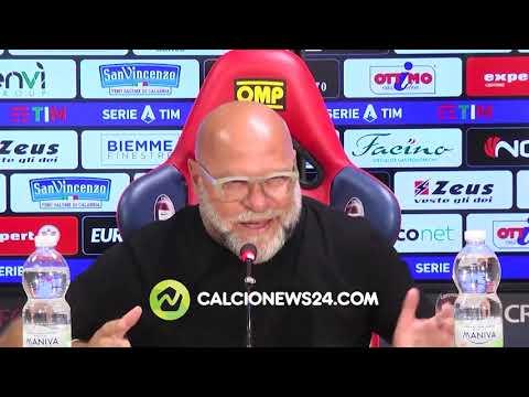 """Cosmi pre Roma-Crotone: """"C'è delusione. Mourinho? Sono curioso e felice"""""""