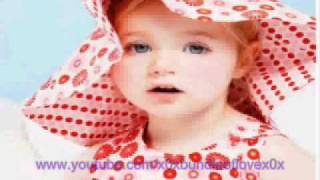 cute baby singing happy birthday to you