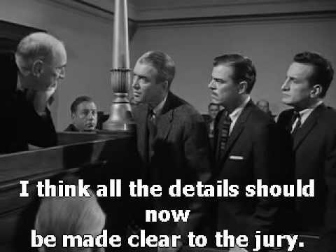 Anatomy Of A Murder 1959 James Stewart - YouTube