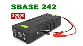 SBASE T242 пуско-зарядное. Запуск 3,2L дизель АКБ В ноль.