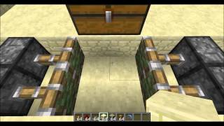 Minecraft Tutorial : How To Make a Trapped Chest Trap