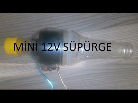 Mini Süpürge Nasıl Yapılır