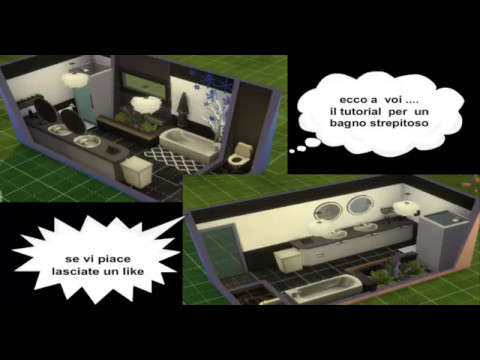 The sims 4 costruire un bagno strepitoso tutorial youtube - Costruire un bagno ...