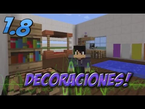 Decoraciones Minecraft 1.8