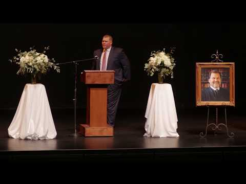 A Celebration of Life: Judge Michael Clark Memorial Service // Full Length Film