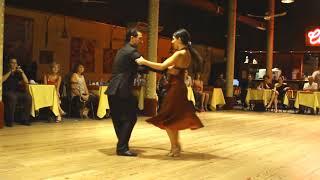 Пабло Джорджини и Ноэлия Колетти - Аргентинское Танго - Буэнос-Айрес, в клубе «Gricel».
