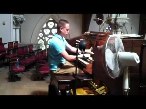 Tocatta in D Minor Bach - Hook & Hastings Boston