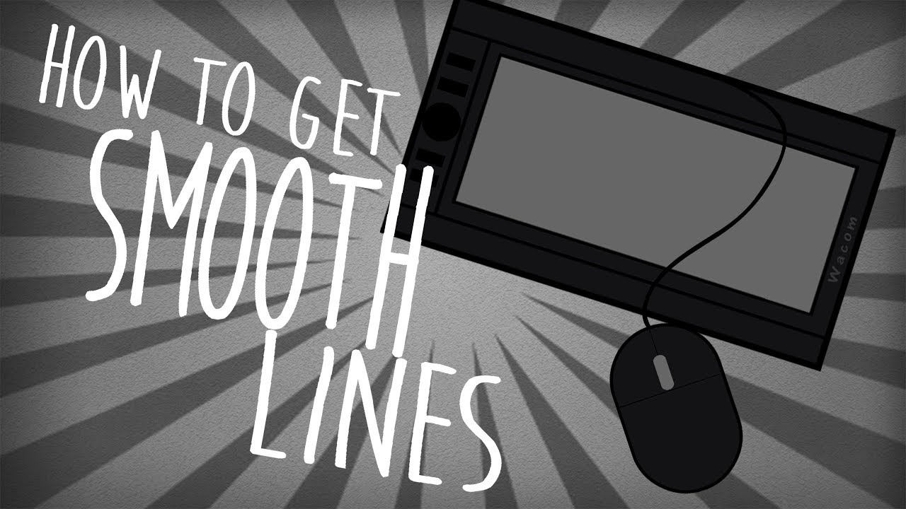 Drawing Smooth Lines With A Tablet : How to draw smooth lines with a tablet or mouse tutorial youtube