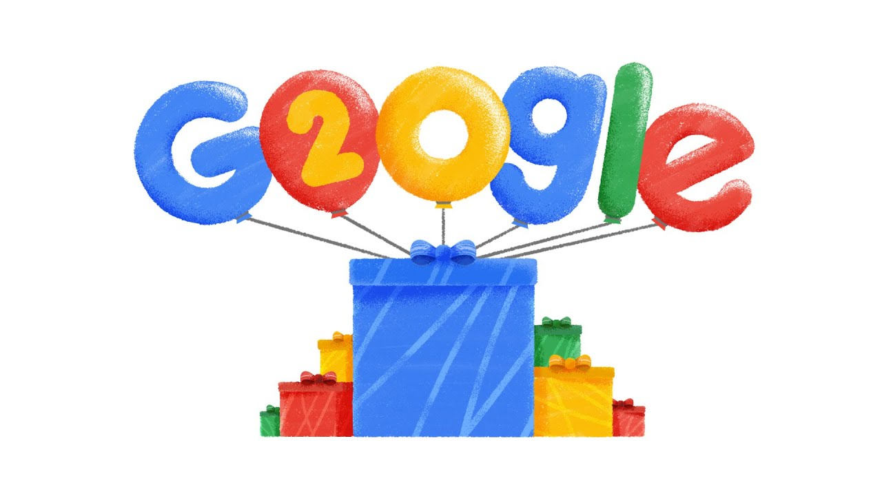 googles 20th birthday