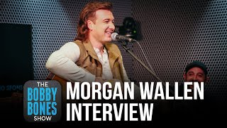Morgan Wallen Talks About Writing Songs For New Album, His Hometown & Performing On SNL