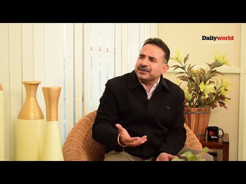 DAILY WORLD TV INTERVIEW: Punjab's IPS officer Sanjeev Kalra remembers his childhood to stay happy