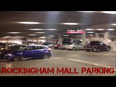 Parking Garages and Mall tour at the Mall at Rockingham Park - Salem NH