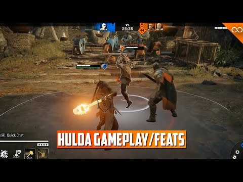 For Honor New Viking Hulda Fight Showcase! - Jormungandr First Look - Gameplay/Feats