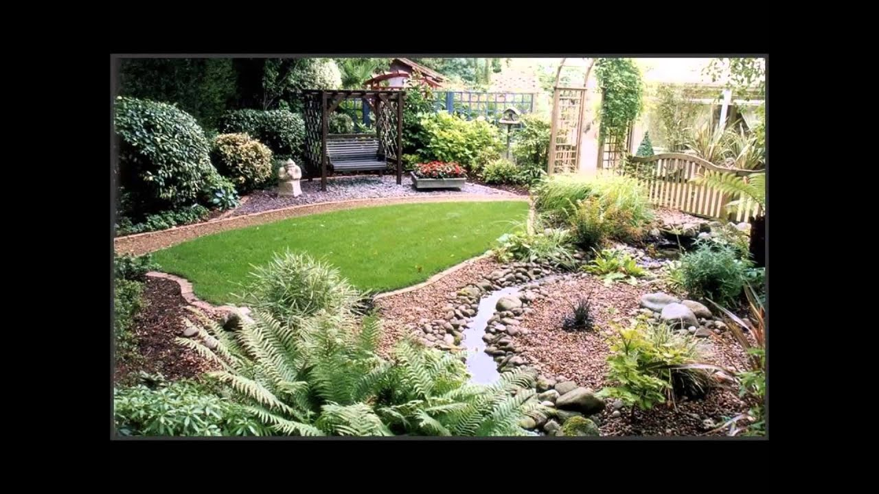 Small front and Backyard Landscaping Ideas - YouTube on Backyard Lawn Designs id=96376