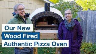 🔵 Delivery And Setup Of Our Authentic Pizza Oven