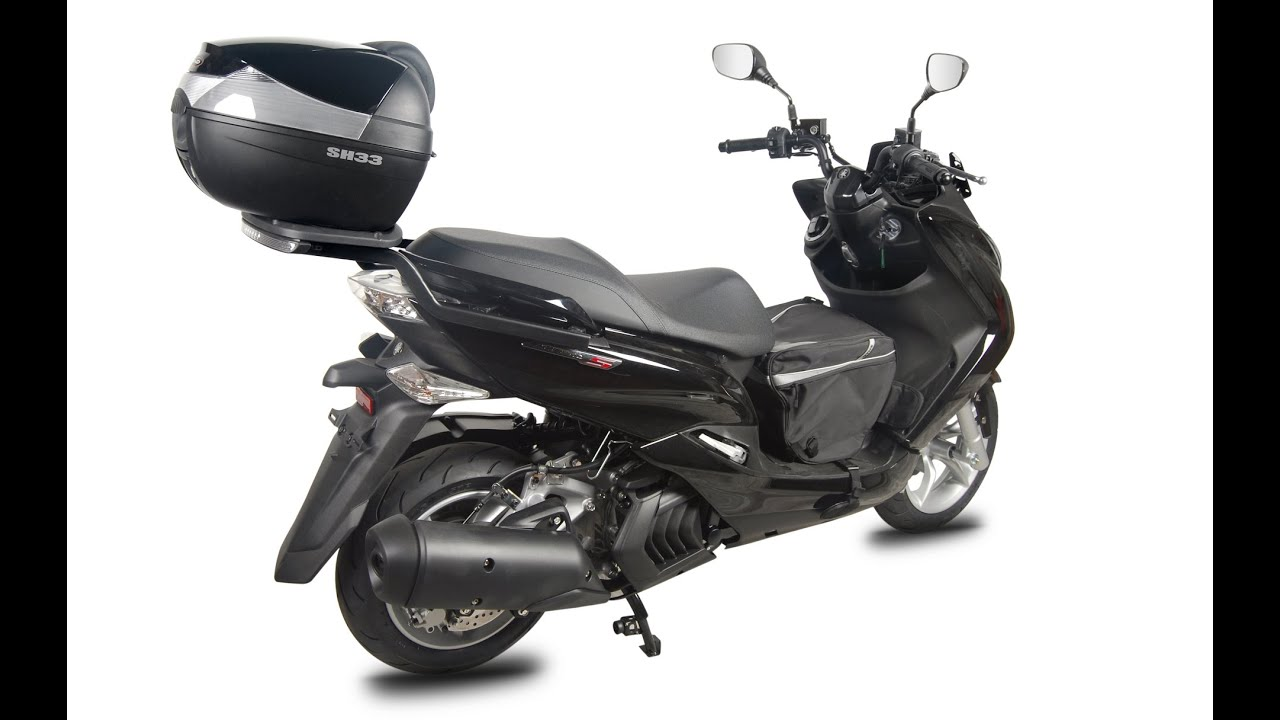 Yamaha Majesty 125 Instalaci 243 N Top Case Shad Youtube