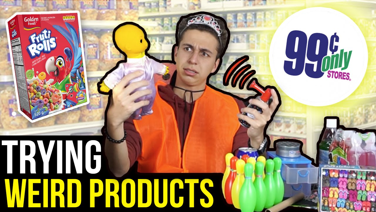 WEIRD PRODUCTS For 99 CENTS OR LESS