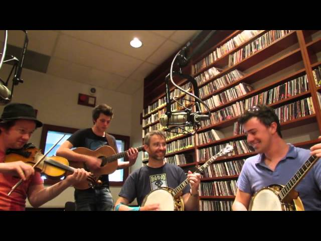 We Banjo 3 Live on WMSE Milwaukee