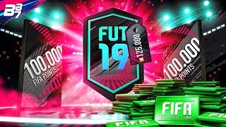 100K FIFA POINTS OPENED......... | FIFA 19 ULTIMATE TEAM