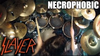 "Slayer - ""Necrophobic"" - DRUMS"