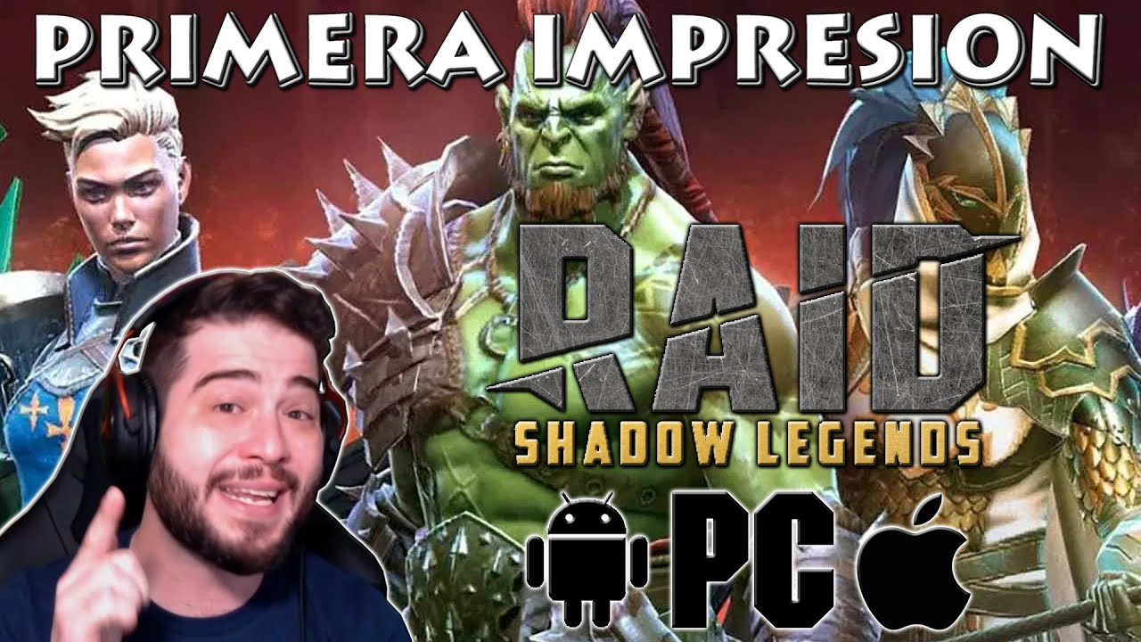 RAID: SHADOW LEGENDS!! PRIMERA IMPRESION! QUE TAL ESTA ESTE RPG?!