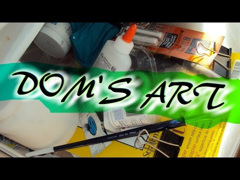 Dom Shows Off His Art thumbnail