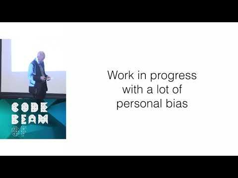 Joe Armstrong - Keynote: The Forgotten Ideas In Computer Science - Code BEAM SF 2018