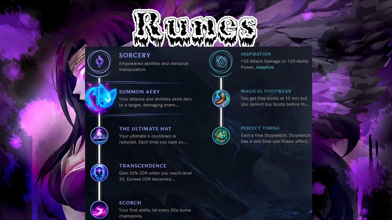 League Of Legends Morgana Runes