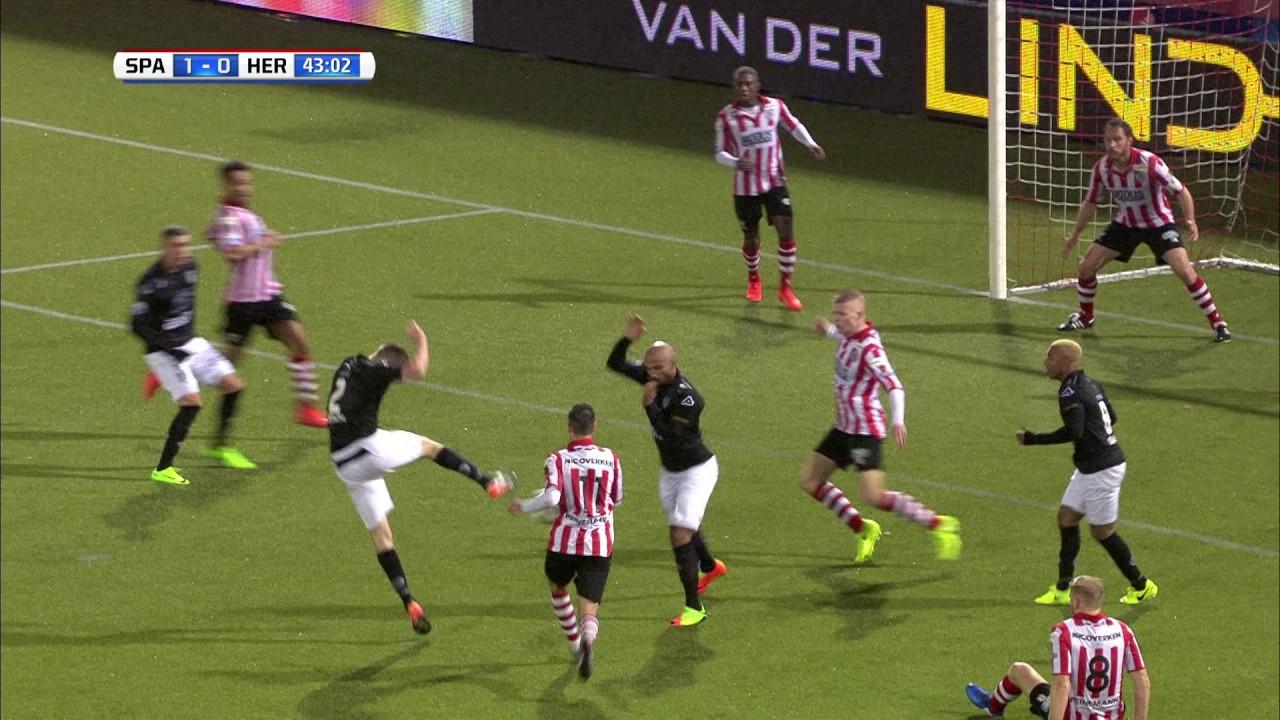Sparta Rotterdam - Heracles Almelo 3-1 | 18-03-2017 | Samenvatting