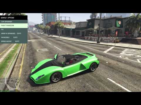 Native Trainer - All Features - GTA V PC