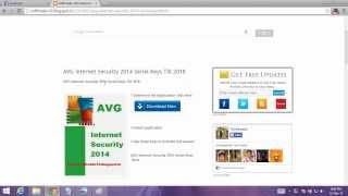 AVG Internet Security 2014 installation setup
