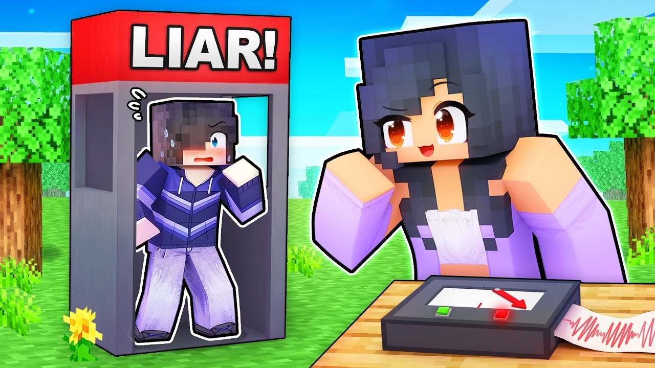 Download Using a LIE DETECTOR on my Friends In Minecraft!