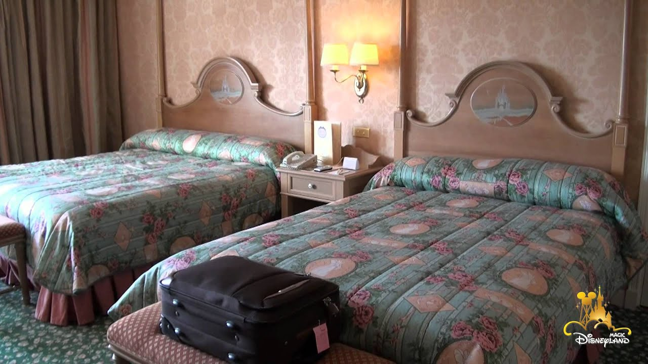 Disneyland Castle Hotel Room