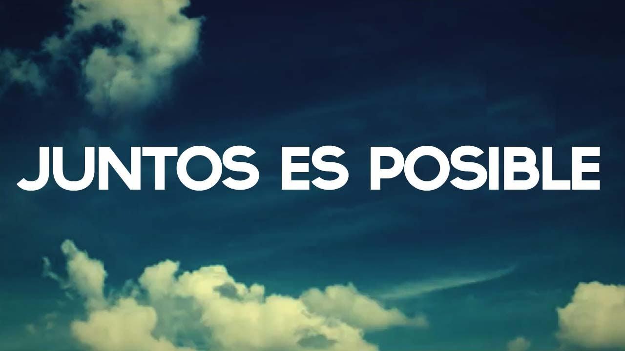 Juntos Es Posible Argentina Medita 2013 Youtube