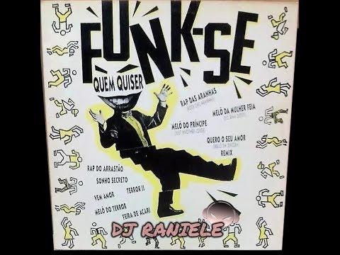 MIX LP FUNK-SE QUEM QUISER Vol 01 1992 DJ RANIELE