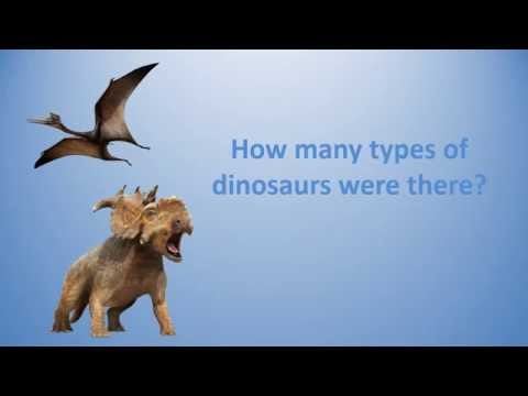 How many types of dinosaurs were there ?Kaynak: YouTube · Süre: 1 dakika35 saniye