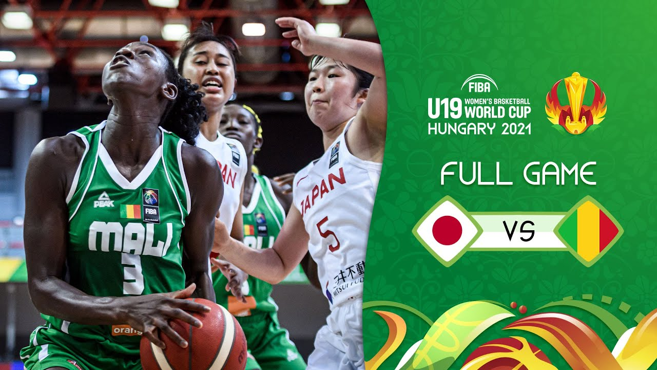 Japan v Mali   Full Game - FIBA U19 Women's Basketball World Cup 2021