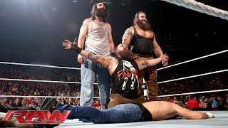 Roman Reigns & Dean Ambrose vs. Bray Wyatt & Luke Harper: Raw, Aug. 24, 2015