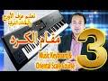 تعليم عزف مقام الكرد - تعليم عزف الأورج الشرقي - شرح مقام الكرد | Oriental scales 3 - Kurd