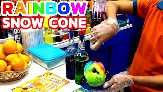 Video Snow Cone | Colorful Rainbow Ice Cream in Dubai - Ice Gola / Snow Halva download MP3, 3GP, MP4, WEBM, AVI, FLV Januari 2018