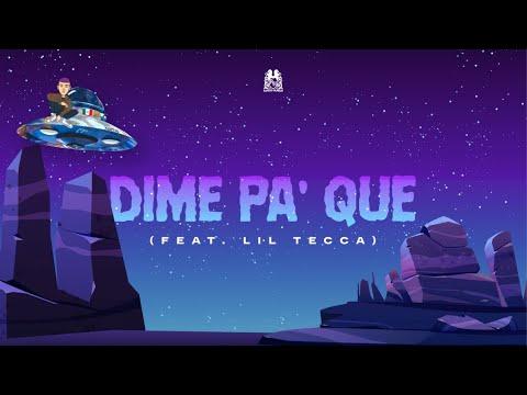 Dime Pa' Que - Natanael Cano feat. Lil Tecca (Lyric Video)