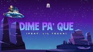 Dime Pa' Que - Natanael Cano feat. Lil Tecca (Lyric Video)