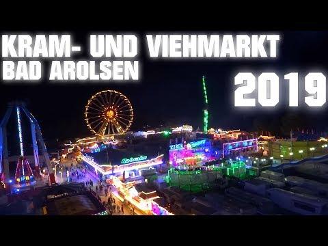 Kram- und Viehmarkt in Bad Arolsen 2019 ► Kirmes Fahrgeschäfte Mix │MGX