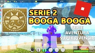 Booga Booga series 2, the mysterious visitor and murderer deer, Roblox Spanish Will Gold play
