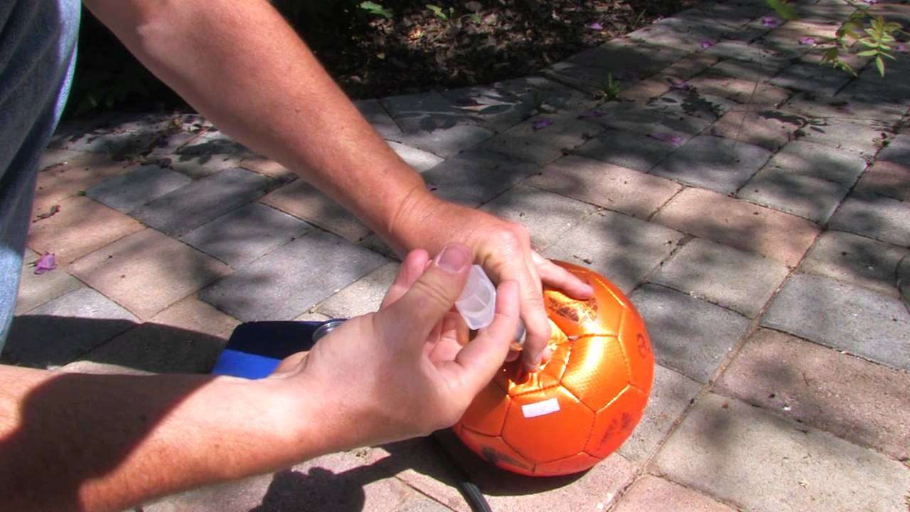 30 Second Soccer Ball Repair!