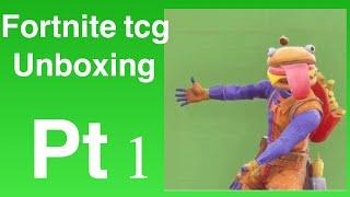 Fortnite TCG unboxing Starter Pack