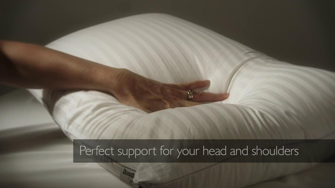 Dunlopillo Super Comfort Latex Pillow Youtube