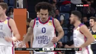 #BSL 12. Hafta: Anadolu Efes - Fenerbahçe Beko